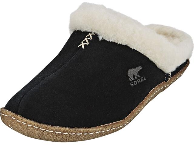 Sorel Nakiska Slide Slippers Women black/fossil